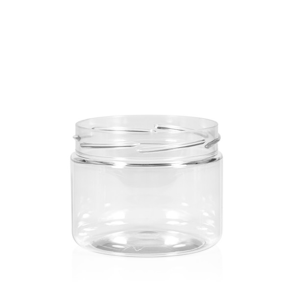 250 ml Clear cylinder PET transparant
