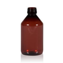 250 ml fles Pharma PET bruin 28.410