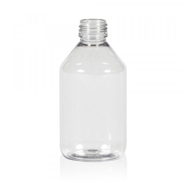 250 ml fles Pharma PET transparant 28.410