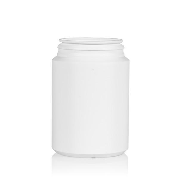250 ml Pharma cylinder HDPE wit
