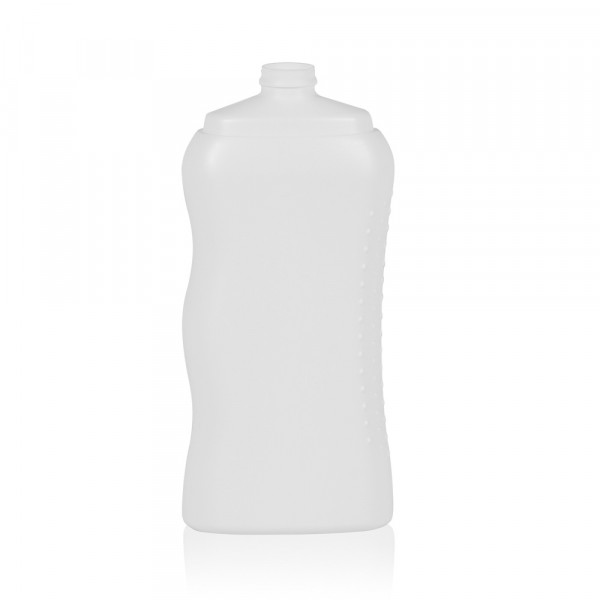 250 ml fles Shower HDPE wit