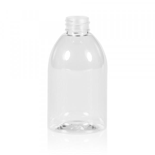 250 ml fles Soap PET transparant 28.410