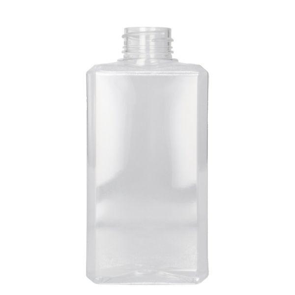 250 ml fles Basic Rectangle PET Transparant