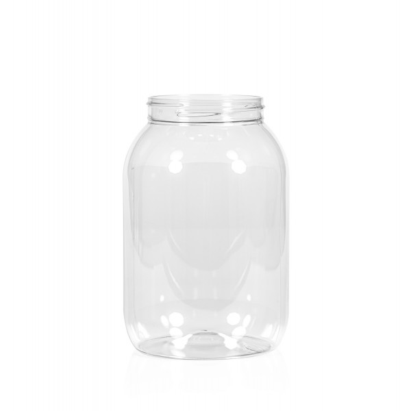 2500 ml Big clear PET transparant