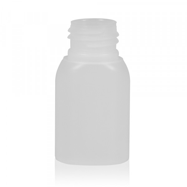 30 ml fles Basic Oval HDPE naturel 24.410