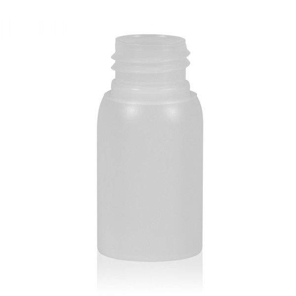 30 ml fles Basic Round HDPE naturel 24.410