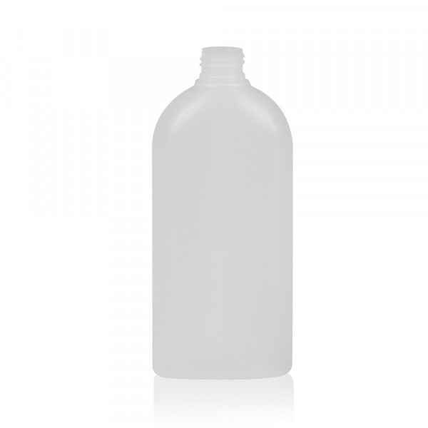 300 ml fles Basic Oval HDPE naturel 24.410