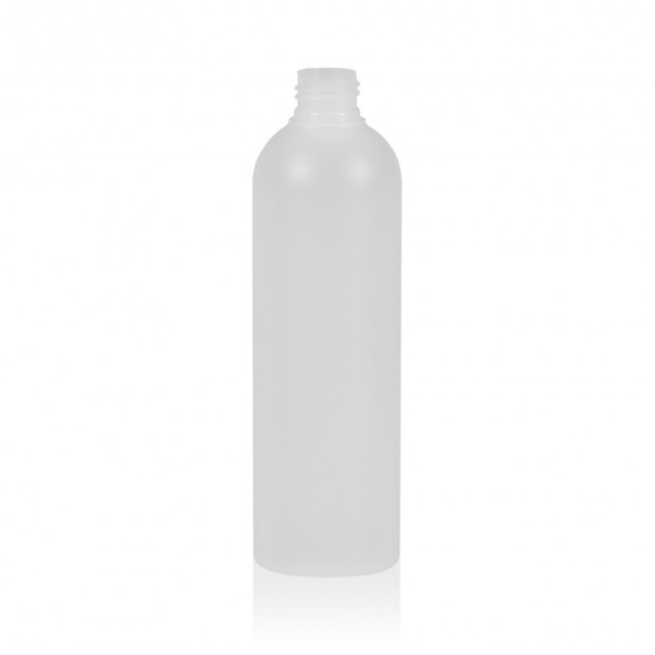 300 ml fles Basic Round HDPE naturel 24.410