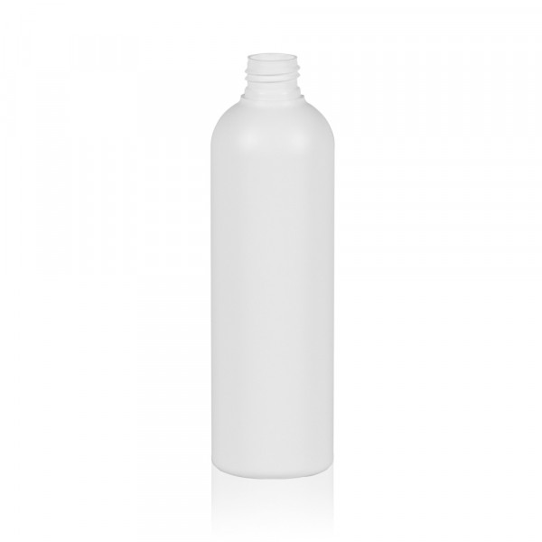 300 ml fles Basic Round HDPE wit 24.410