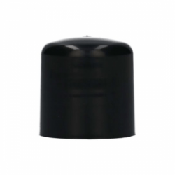 Schroefdop PP 100% gerecycled zwart 24.410