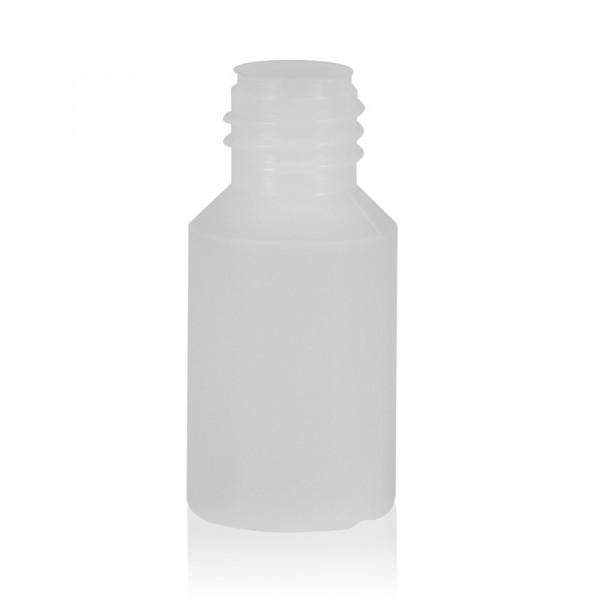 5 ml fles Mini Round HDPE-LDPE naturel