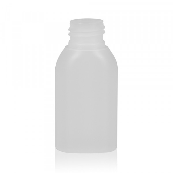50 ml fles Basic Oval HDPE naturel 24.410