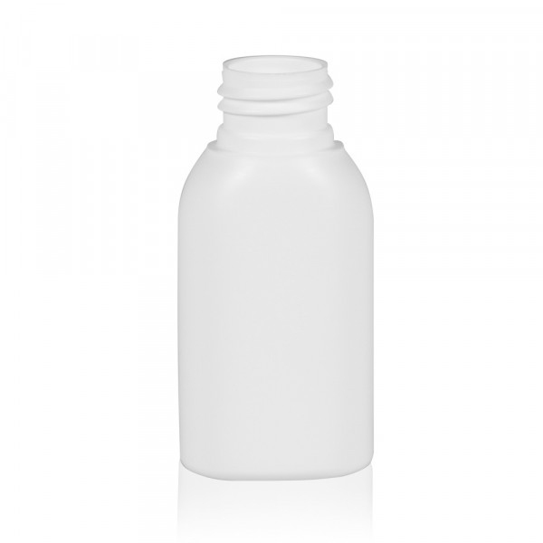 50 ml fles Basic Oval HDPE wit 24.410