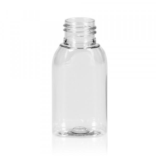 50 ml fles Basic Oval PET transparant 24.410