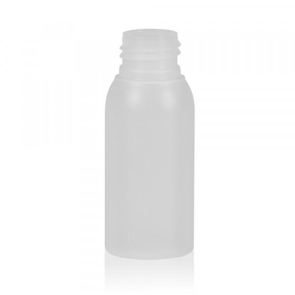 50 ml fles Basic Round HDPE naturel 24.410