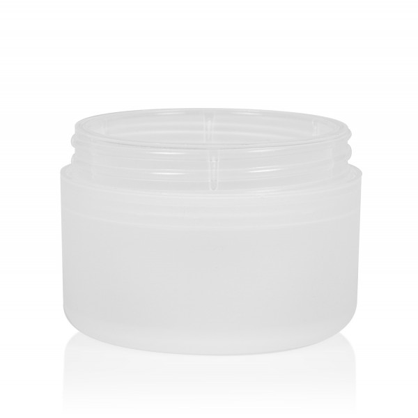 50 ml Frosted soft PP naturel double-walled