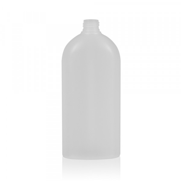 500 ml fles Basic Oval HDPE naturel 24.410