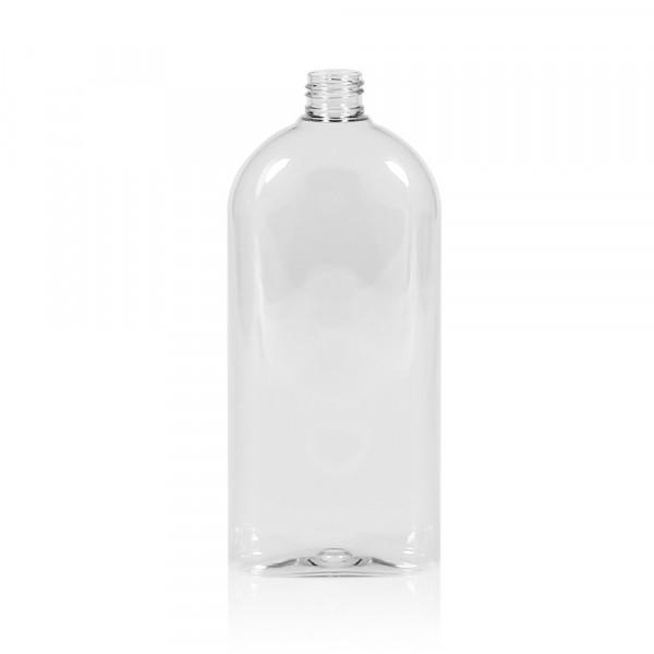 500 ml fles Basic Oval PET transparant 24.410