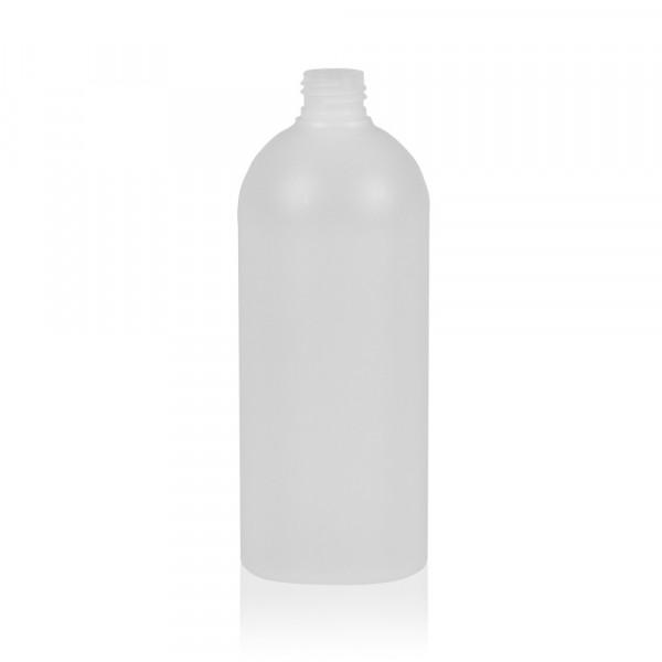 500 ml fles Basic Round HDPE naturel 24.410