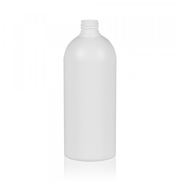 500 ml fles Basic Round HDPE wit 24.410