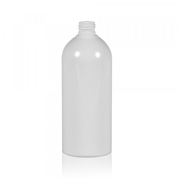 500 ml fles Basic Round PET wit 24.410