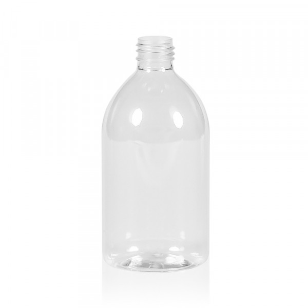 500 ml fles Soap PET transparant 28.410