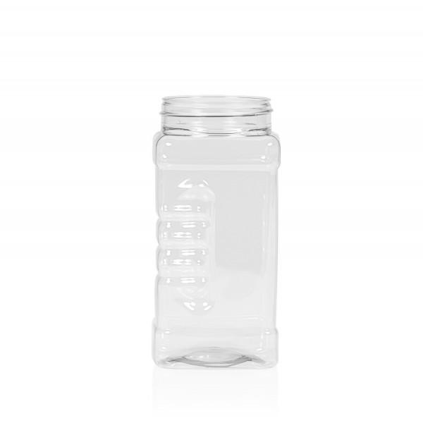 500 ml Spice square PET transparant