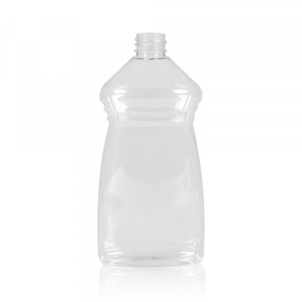 500 ml fles Wash PET transparant 28.410