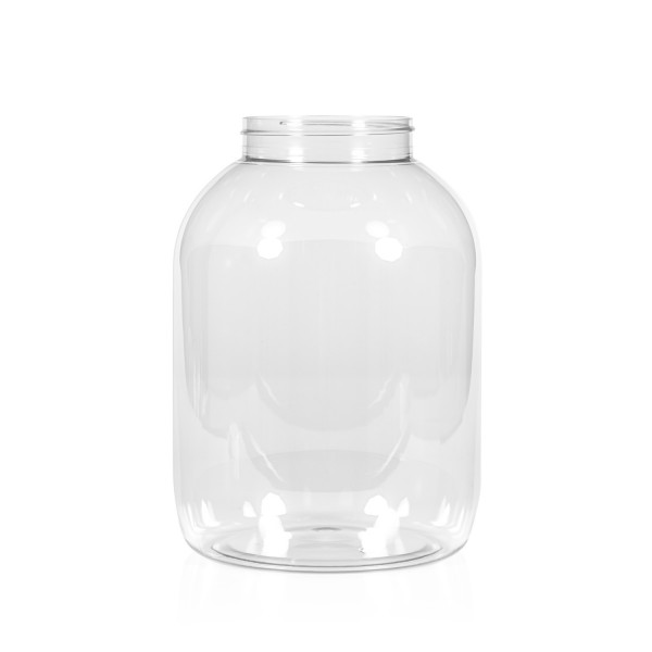 5000 ml Big clear PET transparant