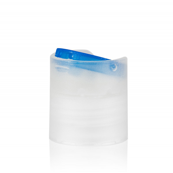 Disc-top PP naturel/blauw 24.410