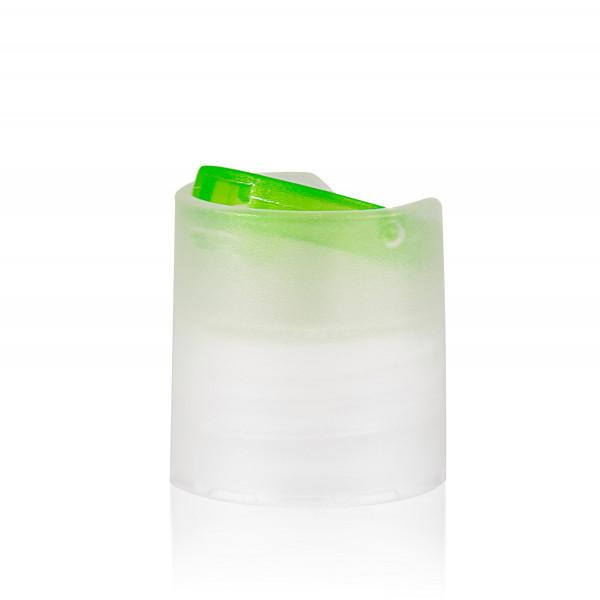 Disc-top PP naturel/groen 24.410
