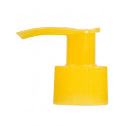 Dispenserpomp PP geel 24.410