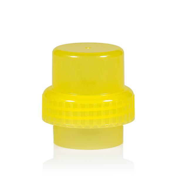 Doseerdop PP geel 567