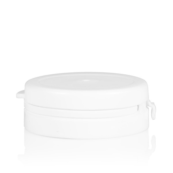 Garantiedeksel Pharma cylinder 43 mm wit