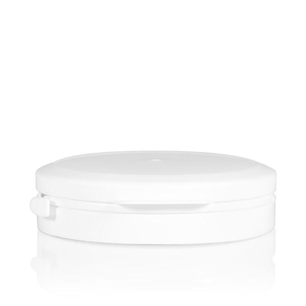 Garantiedeksel Pharma cylinder 95 mm wit