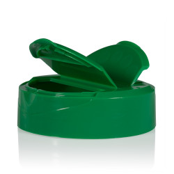 Klepdeksel PP groen