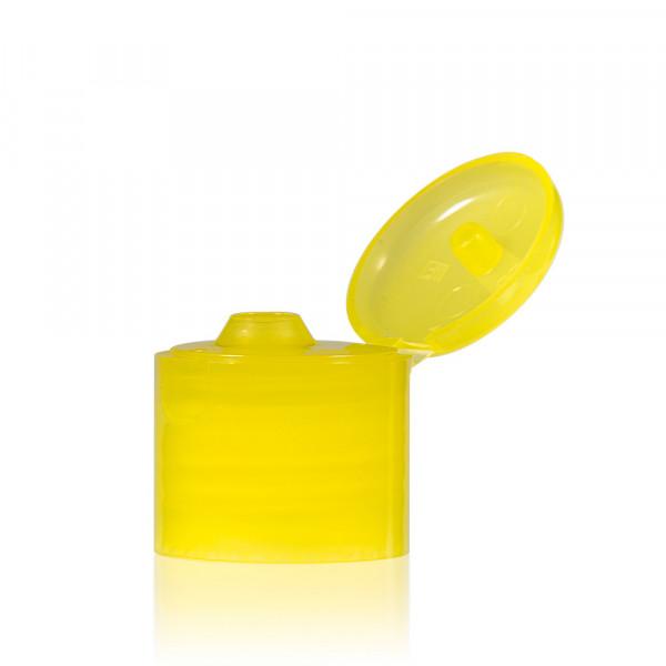 Klepdop PP geel 24.410