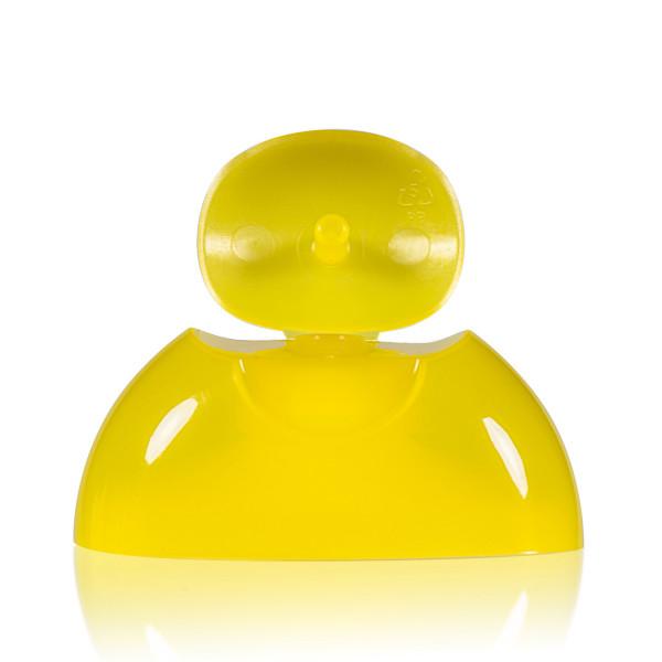 Klepdop PP geel 343