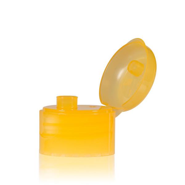 Klepdop PP  oranje 28.410