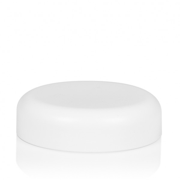 Schroefdeksel Frosted soft 100 ml PP wit