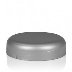 Schroefdeksel Frosted soft 100 ml PP zilver