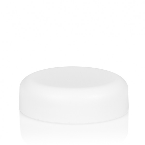 Schroefdeksel Frosted soft 30 ml PP wit
