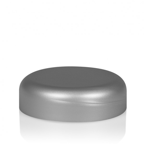 Schroefdeksel Frosted soft 30 ml PP zilver