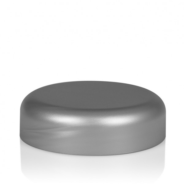 Schroefdeksel Frosted soft 50 ml PP zilver