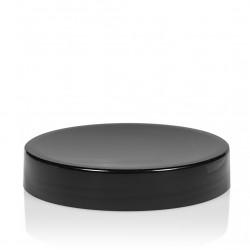 Schroefdeksel Glossy sharp 100 ml PP zwart