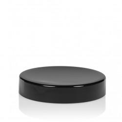 Schroefdeksel Glossy sharp 25 ml PP zwart