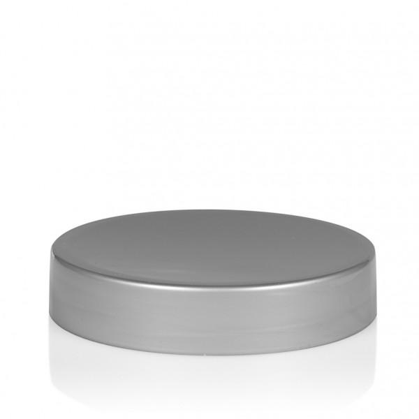 Schroefdeksel Glossy sharp 50 ml PP zilver