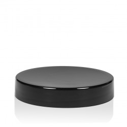 Schroefdeksel Glossy sharp 50 ml PP zwart