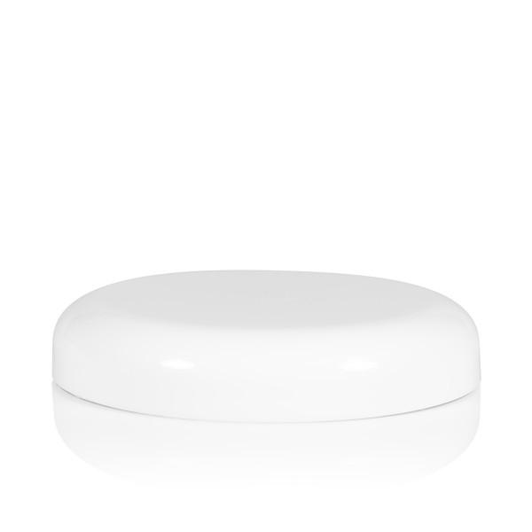 Schroefdeksel Soft cylinder 75 mm wit