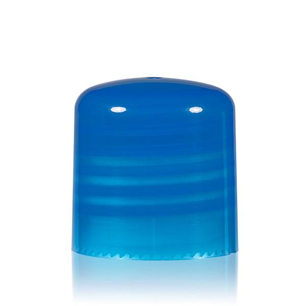 Schroefdop PP blauw 24.410